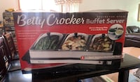Betty crocker Buffet server