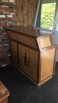 Custom hand built Bar, it's solid wood with ceramic top Central Okanagan, V1Z