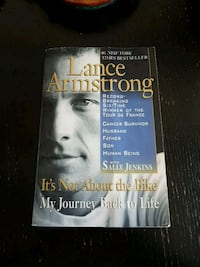Its not about the bike - Lance Armstrong  Mississauga, L5A