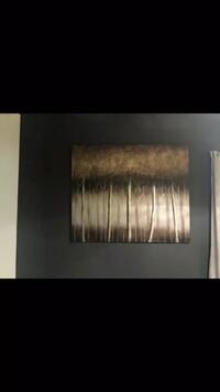 Black and gray abstract painting Atlanta, 30305