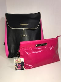 New Juicy Couture Backpack & NWT Juicy Make Up Pouch  Milton, L9T 4K1