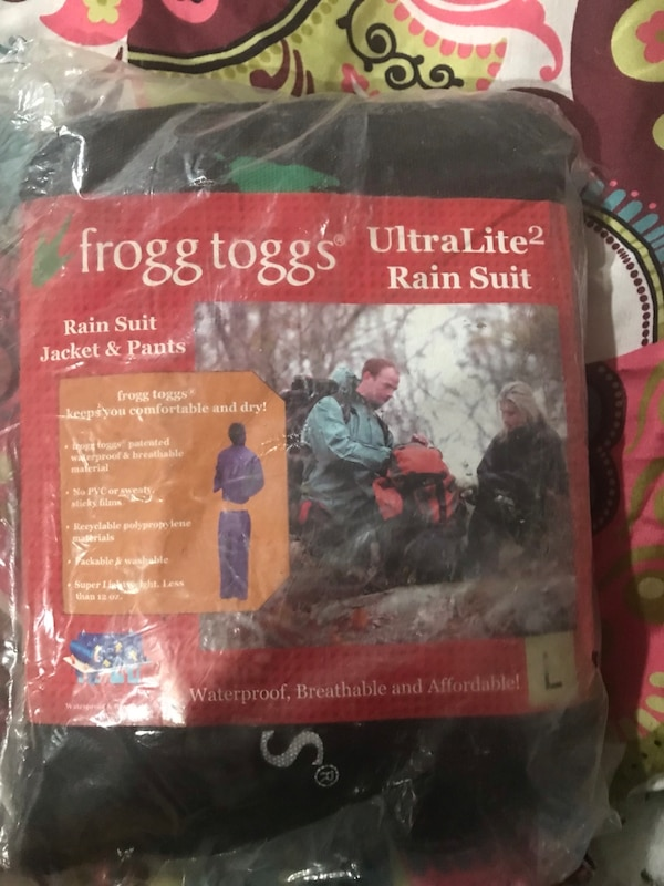 Frogg Toggs ultra lite 2 rain suit pack