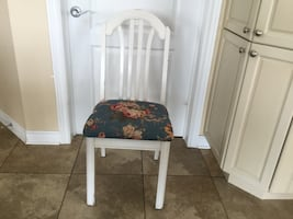ONE CHAIR.