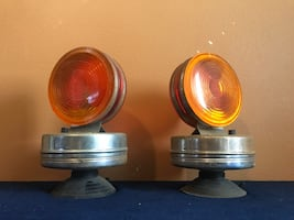 Antique Battery Tow Lights