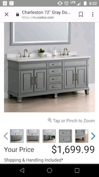 white wooden sideboard with cabinet Redmond, 97756