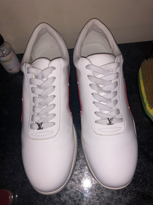 Used Louis Vuitton X Supreme Sneakers For Sale In Austell Letgo
