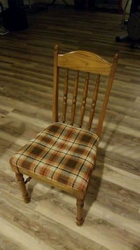 brown wooden frame padded chair Vienna, 22182
