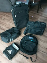 Suitcase and various different bags35 Herndon, 20170