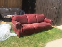 Beautiful Italian leather couch