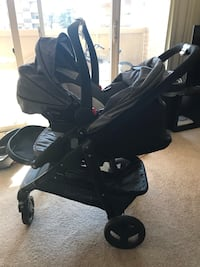 Stroller with ALL attachements 39 km