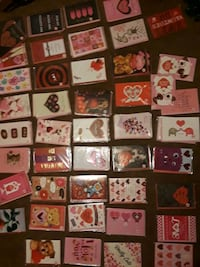 valentine's day cards for 2 dollars a peice there also wrapped n plast Ladson, 29456