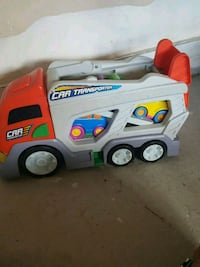 white and red Little Tikes truck toy Brampton, L7A 0G2