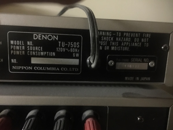 Denon Amp and Receiver  New ( over $5000)
