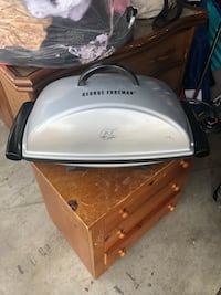 white and black electric grill North Las Vegas, 89031