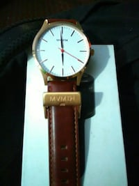 Nice working mans watch Mvmth leather band Indianapolis, 46201