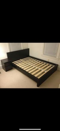 Malm Queen Bed Frame Woodbury, 06798