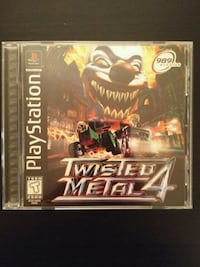 PS1 Twisted Metal 4 Vaughan, L4L