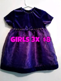 purple and black cap-sleeved dress Calgary, T3B 0T3