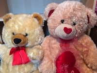 Brown and red bear plush toy Glendale Heights, 60139