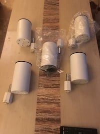 5 BRAND NEW TRACK LIGHTS LED COMPATIBLE NEW IN PACKAGING ALL 5 Wappingers Falls, 12590