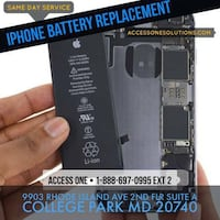 Iphone battery repair replacement Beltsville