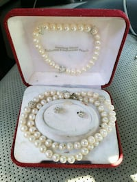 gold and white pearl necklace Billings, 59102
