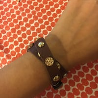 Tory Burch wrap Bracelet. Genuine leather