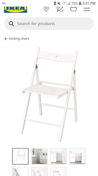 folding chair from ikea Montréal, H3A 1N4