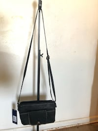 Black crossbody travel bag Glendale, 85301