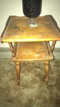 brown wooden 2-tier side table Washington, 20024