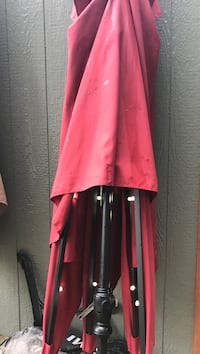 red and black long-sleeved dress Folsom, 08094