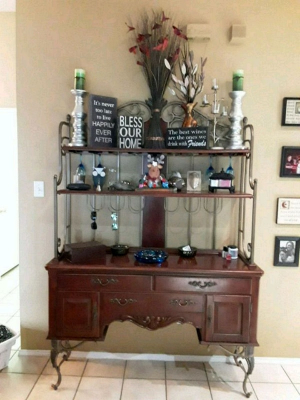 Used Wine Rack And Dining Room Hutch For Sale In Grand Prairie