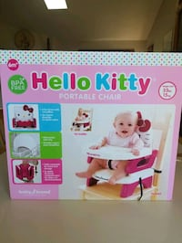 NEW IN BOX HELLO KITTY PORTABLE CHAIR. Middleborough, 02346