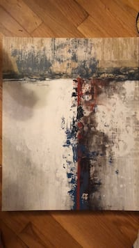 black and brown abstract painting Henrico, 23238