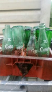 Old  Coca-Cola and Sprite bottles Anderson, 29621
