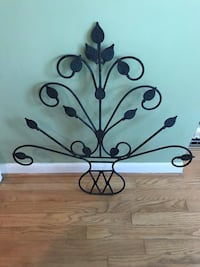 Wrought iron Bohemian wall hanging. Silver Spring, 20904