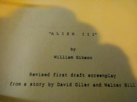 First draft screenplay