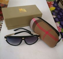 Sunglasses with full case and box
