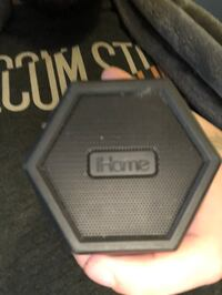 IHome light up bluetooth speaker