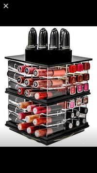 80 lipstick holders very solid comes in three colour. Can rotate all around  Brampton, L7A