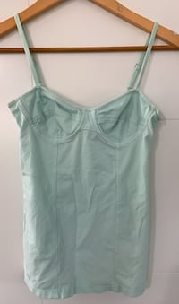 Light blue talula aritzia tank top b