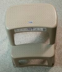 Two Step Plastc Stool  Mississauga, L5B 3J4