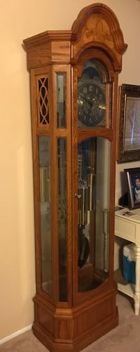brown wooden framed glass curio cabinet Redwood City, 94061