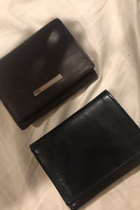 2 NAME BRAND RELA LEATHER WALLETS  Danier leather and Calvin Klein  Brampton, L6Z 1A9