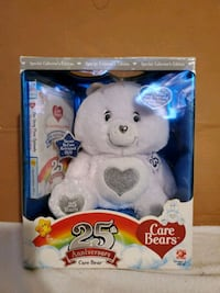 Care Bears 25th Anniversary Crystal eyes and Sterl