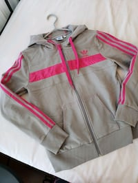 Adidas Track Jacket Hoodie - GOOD CONDITION