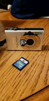 BRAND NEW NEVER USED SILVER CANON POWER SHOT DIGIT 775 km