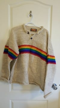 Hand crafted in Nepal wool sweater