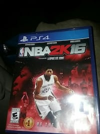 NBA 2K16 PS4 game