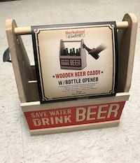 Wooden beer caddy College Station, 77840